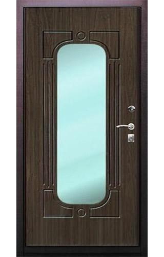дверь металлическая на заказ с зеркалом